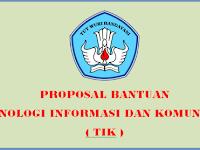 Contoh Proposal Pengajuan Bantuan TIK SD