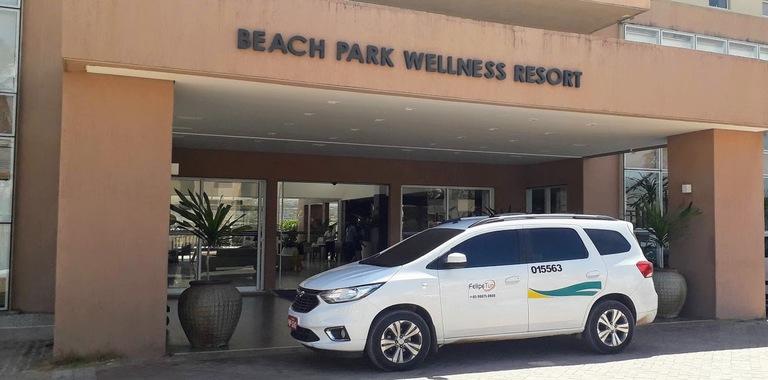 serviço de traslado do aeroporto de fortaleza para o beach park
