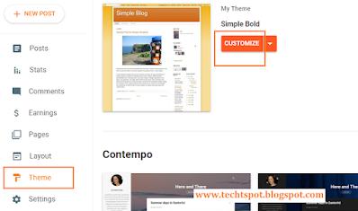 Make Table in Blogger blog Post 1