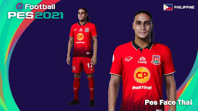 PES 2021 Faces Amani Aguinaldo by PES Face Thai
