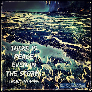 """There is peace even in the storm."" Vincent Van Gough"