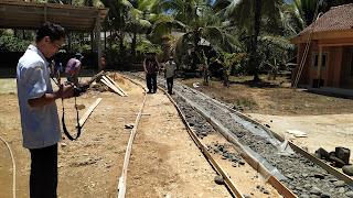 Pembangunan Cor Jalan RT 03/RW 02 Dusun Citelu Desa Mekarsari