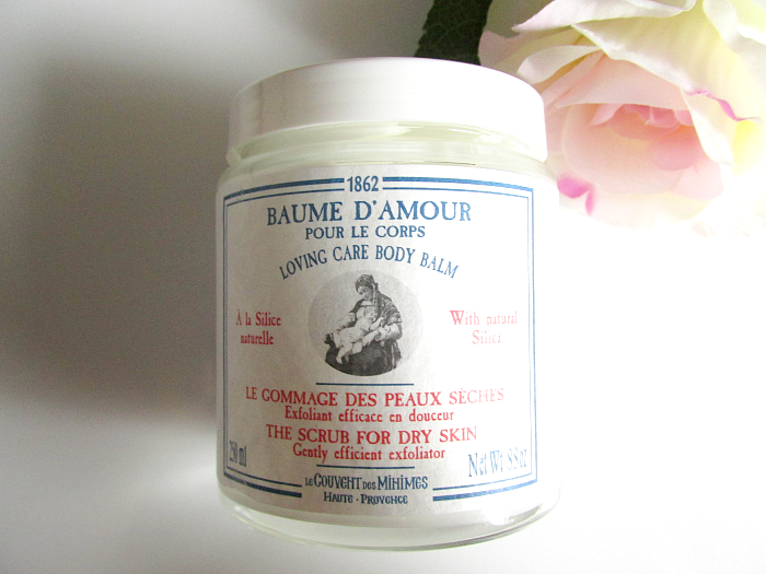 Review: Le Couvent des Minimes Baume d´Amour - The Scrub for Dry Skin - 250ml - 24.00 Euro