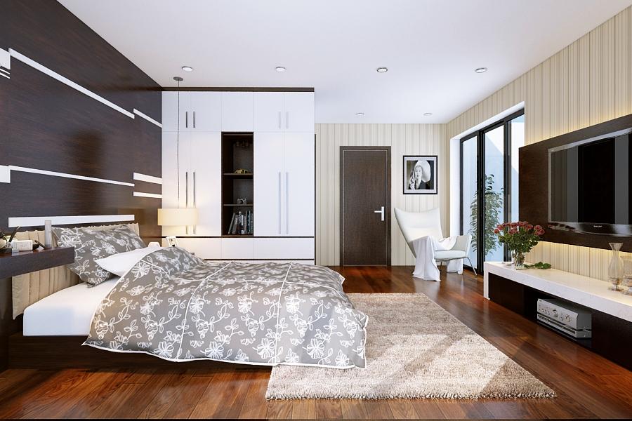Phòng ngủ dự án Green Pearl