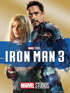 Iron Man 3 (2013) 720p BluRay Dual Audio [Hindi-DD5.1] ESubs Download MKV