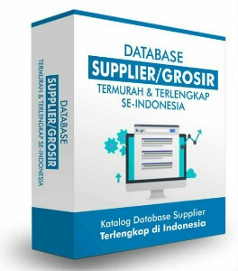 Database Supplier Seluruh Indonesia