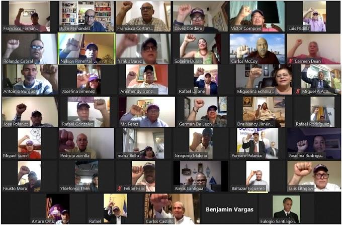 En acto virtual Lantigua juramenta equipo de campaña del PLD en Nueva York