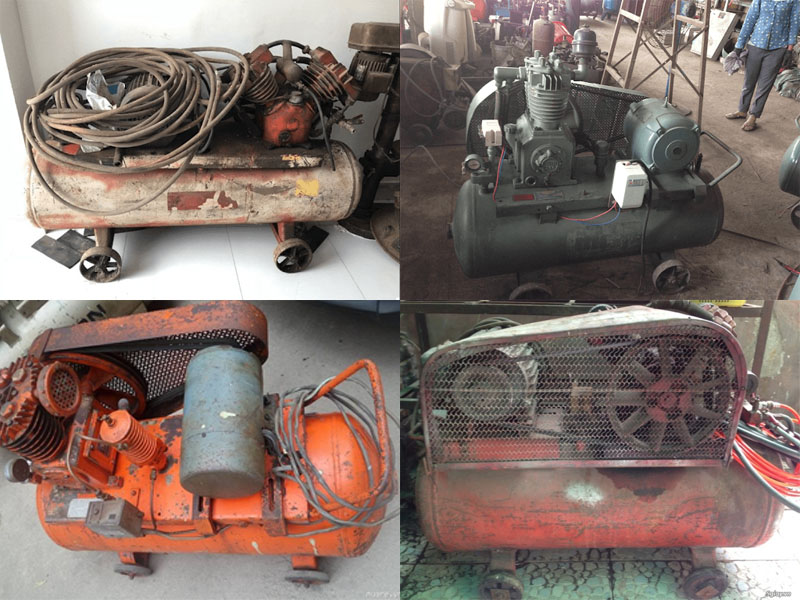 máy nén khí cũ, máy nén khí đã qua sử dụng, máy nén khí thanh lý, máy nén khí sang tay, máy nén khí bãi nhật