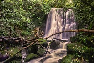 Matai Falls Nueva Zelanda