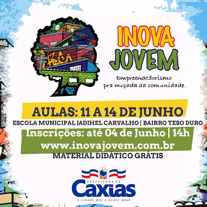 COORDENAÇÃO DA JUVENTUDE - Projeto Inova Jovem está com inscrições abertas até 04 de junho para Caxias