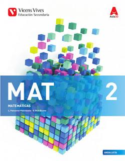 Libro Matemáticas 2º ESO Vicens Vives Aula 3D (Edición 2016)