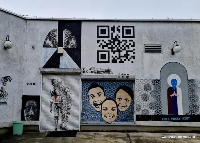 Warszawa Warsaw mural warszawskie murale street art graffiti warsaw street Bemowo