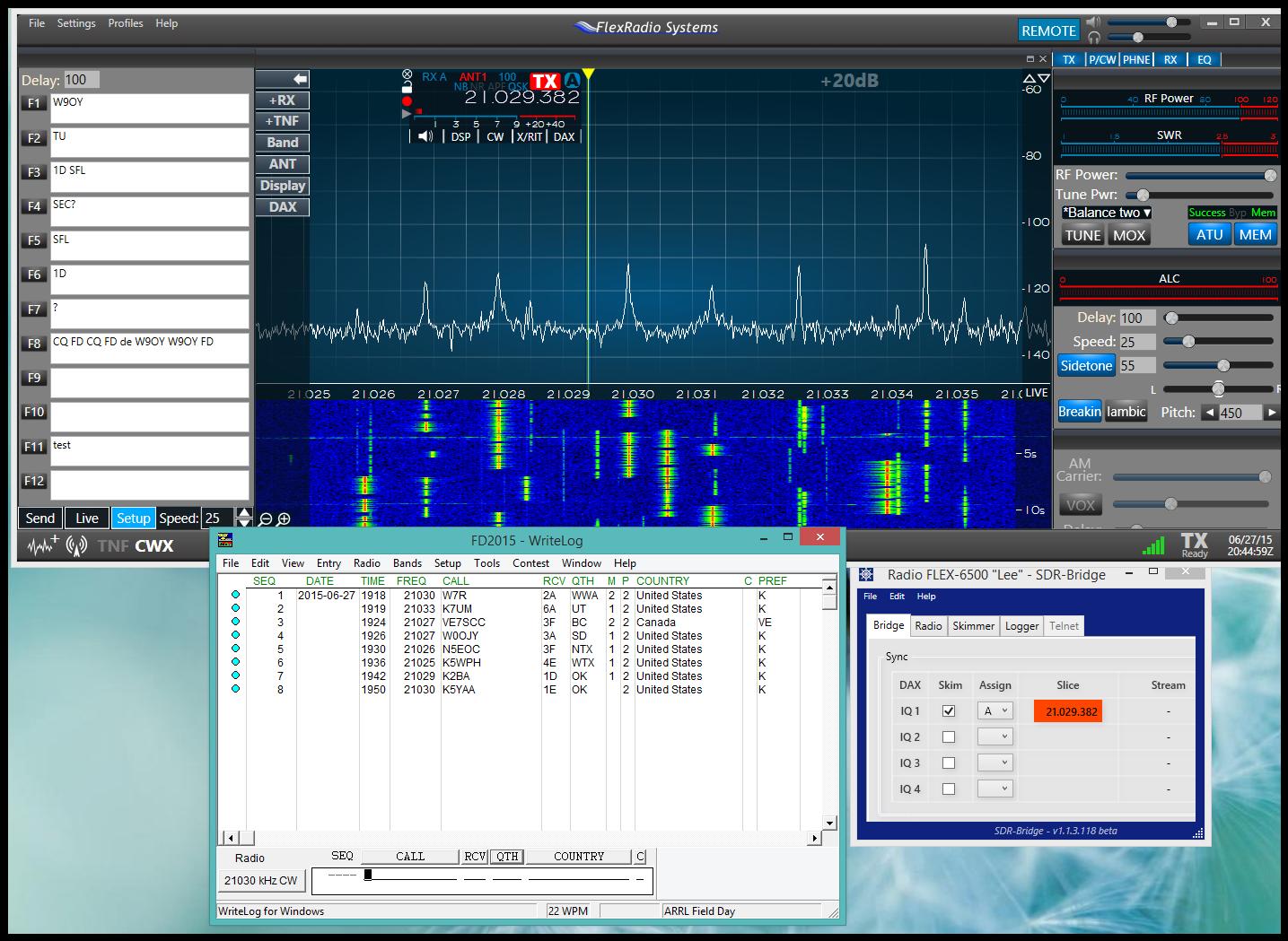 Software Defined Ham Radio: June 2015