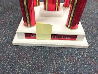 Mr. F's Hall Pass