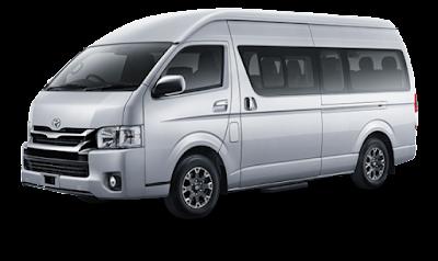 Sewa Toyota Hiace 2017 Padang