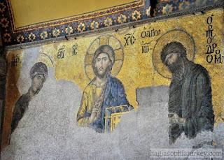 Turki Akan Tetap Melestarikan Ikon-ikon Kristen di Hagia Sophia