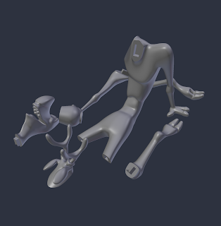 Cheery Reindeer Model [Parts] STL file by Paul Van Gaans