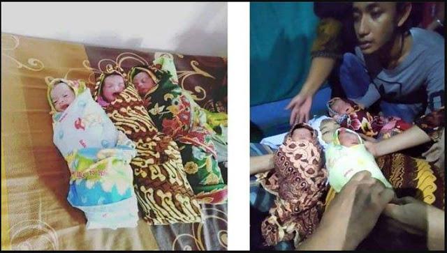 Usai Melahirkan 3 Bayi Kembar, Ibu Muda ini Meninggal Dengan Wajah Yang Tersenyum