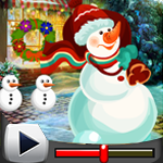G4K Christmas Snowman Rescue Game Walkthrough