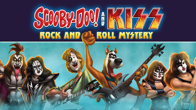 Scooby-Doo! and KISS: Rock and Roll Mystery Blu-ray Giveaway