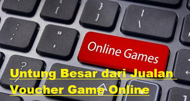 Untung Besar dari Jualan Voucher Game Online