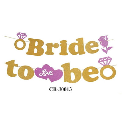 Bunting Garland Bride To Be CB-J0013