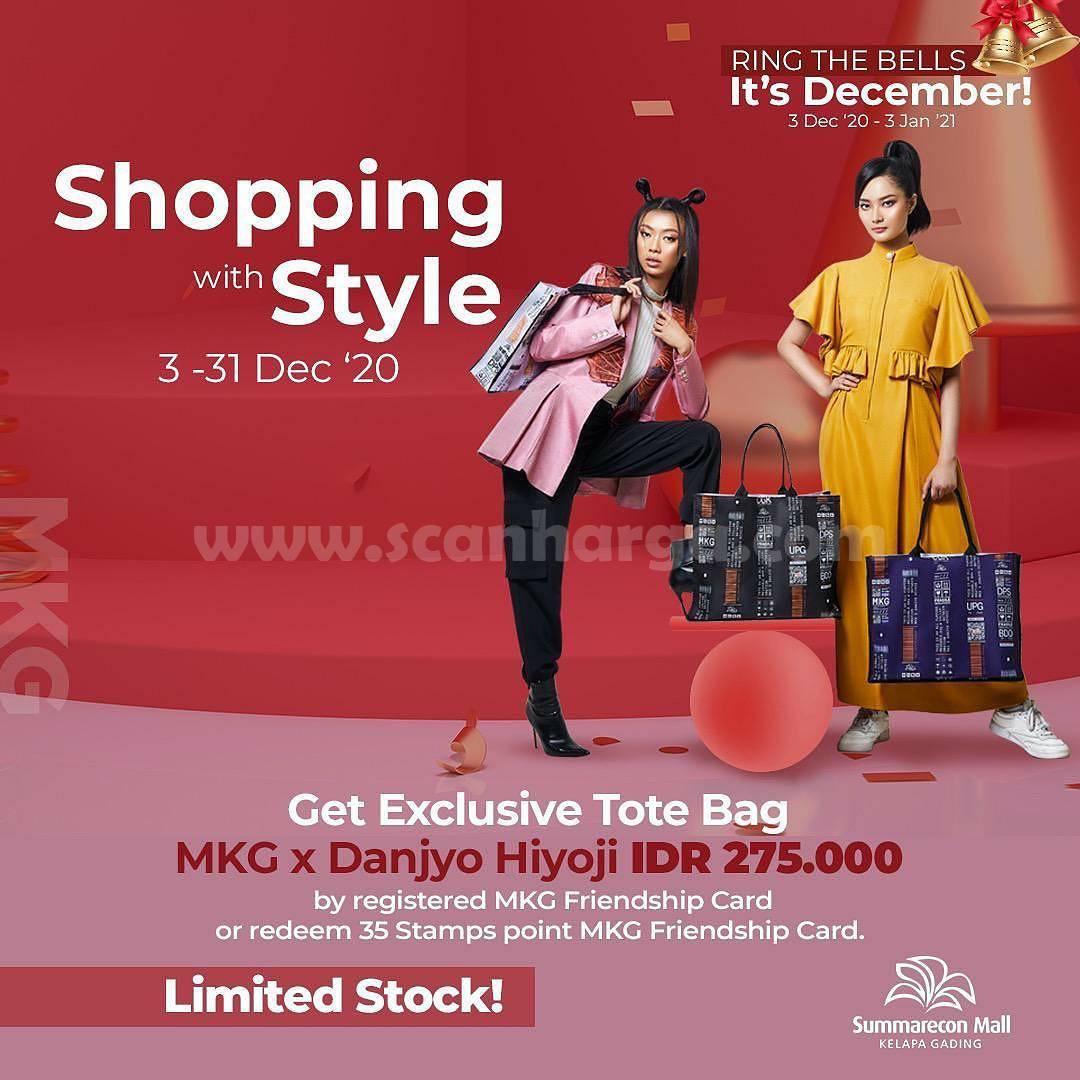 Summarecon Mall Kelapa Gading – Get Exclusive Tote Bag MKG x Danjyo Hiyoji