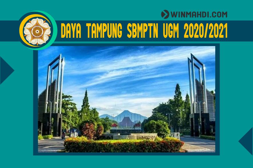 DAYA TAMPUNG SBMPTN UGM 2020-2021