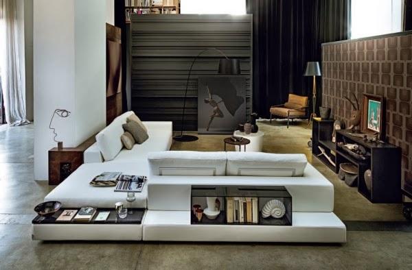 estupendas salas modernas de tv colores en casa. Black Bedroom Furniture Sets. Home Design Ideas