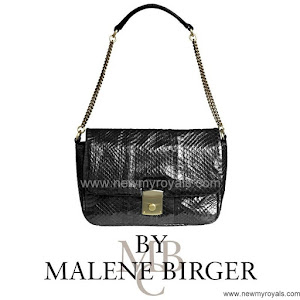 Crown Princess Victoria Style By-Malene Birger Laminea leather bag