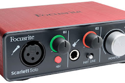 Quick Review Focusrite Scarlett Solo - USB Audio Interface Untuk Home Recording