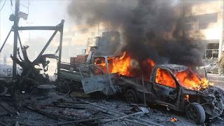 """مقتل 4 مدنيين جراء انفجار في """"تل أبيض"""" السورية (فيديو)"""