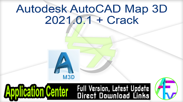 Autodesk AutoCAD Map 3D 2021.0.1 + Crack