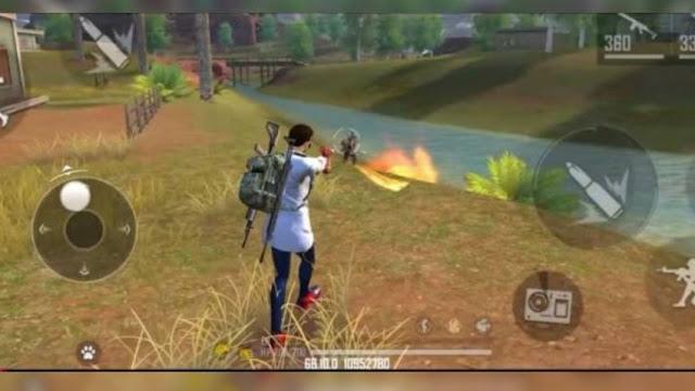Senjata Flamethrower FF Memiliki Amunisi Beda dari Senjata Lain