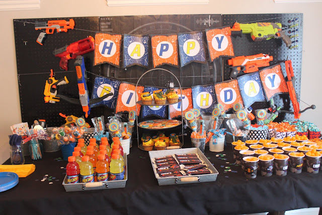 Nerf War Party Decorations