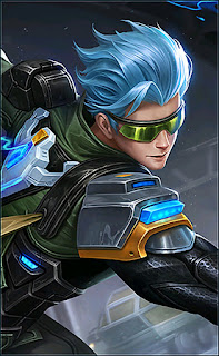 Gusion Cyber Ops Heroes Assassin Mage of Skins October Starlight 2018 V3