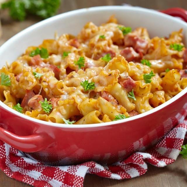 Recetas: Macarrones gratinados a los dos quesos