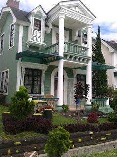 Penginapan / villa kota bunga