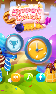 Sweet Candy Boom: Sweet puzzle