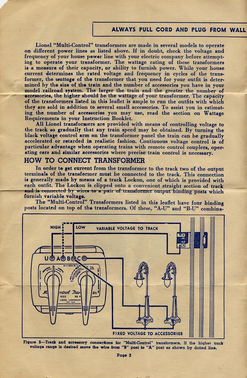 medium resolution of lionel postwar wiring diagrams model train wiring diagrams lionel kw transformer wiring diagram lionel 1033 transformer