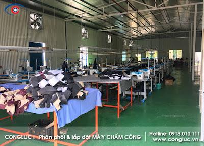 Lắp máy chấm công xưởng may UMi Hải Phòng