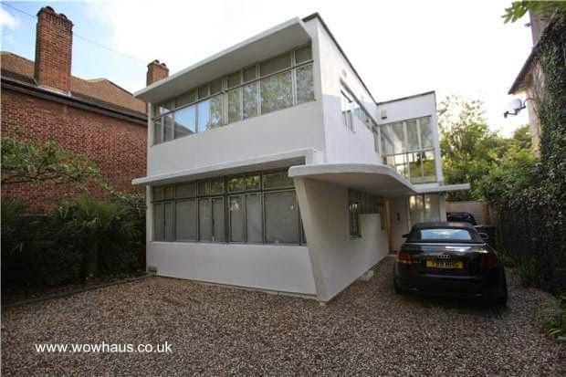 Casa moderna inglesa de los años 30