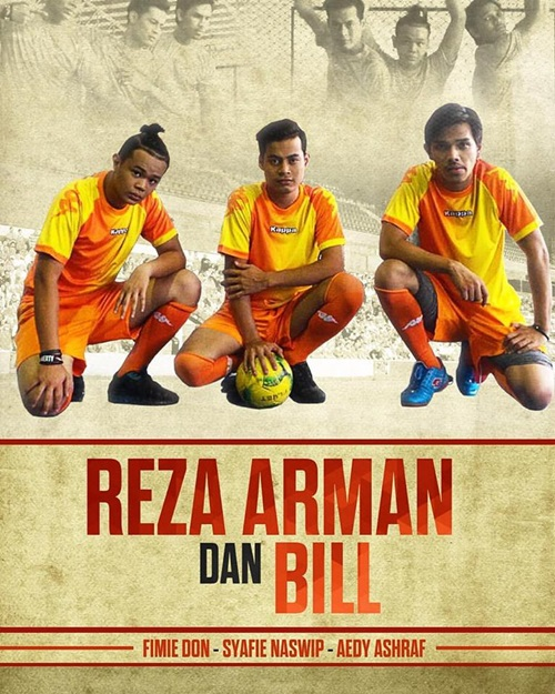 Sinopsis Reza, Arman & Bill cerekarama TV3, pelakon dan gambar cerekarama Reza, Arman & Bill TV3, drama telefilem Reza, Arman & Bill TV3