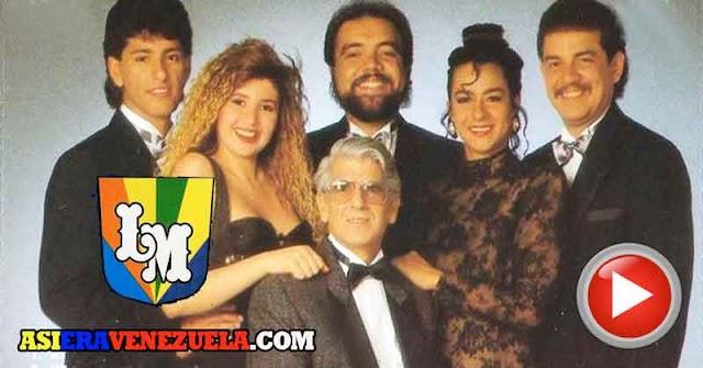 Los Melódicos en los años 90 alegrándonos con su merengue