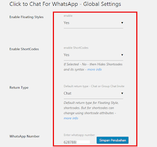 Cara Pasang Widget WhatsApp di Wordpress