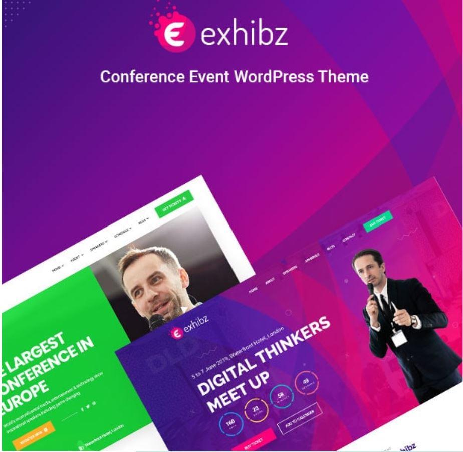 Exhibz   Event Conference WordPress Theme