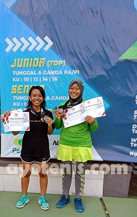 Atlet Semen Indonesia Tennis Academy Ukir Prestasi di Kejurnas Tenis Piala Bupati Tulungagung