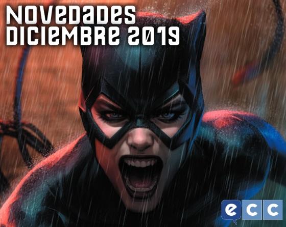 Novedades de ECC Edciones Para Diciembre de 2019