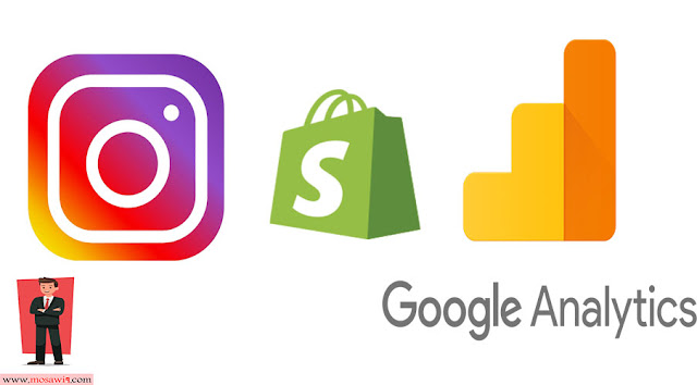 Instagram shopify & google analytics