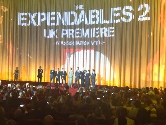 Expendables 2 (2012) premiere